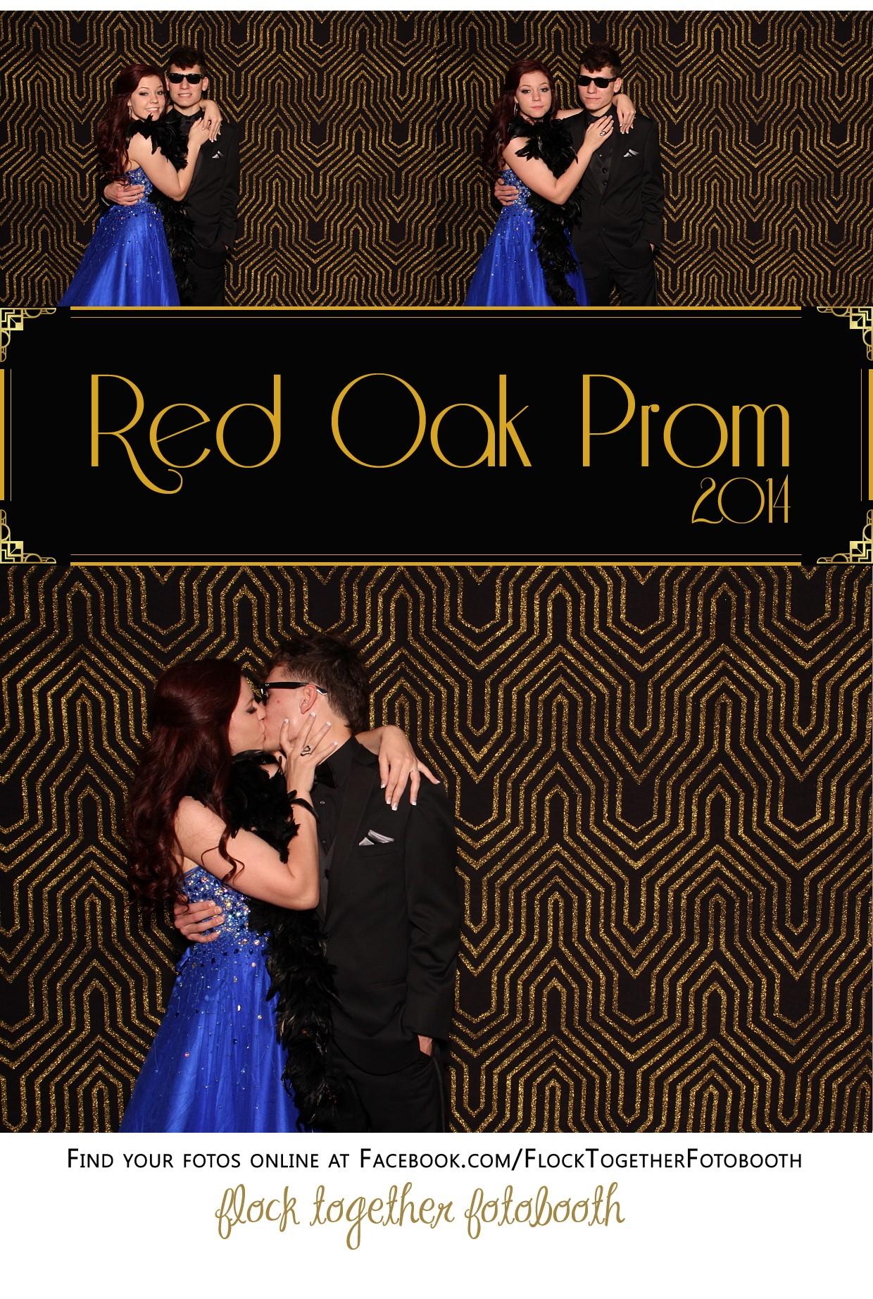 Prom photo booth in Dallas Texas