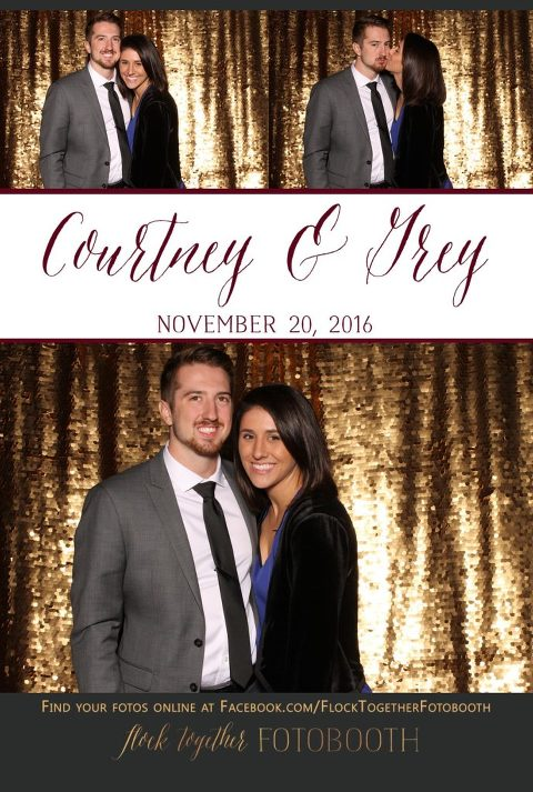 Photo booth at The Orchard in Azle, Texas